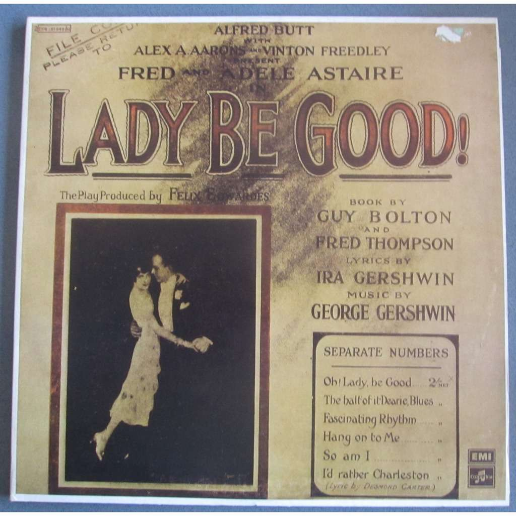 Lady Be Good & Funny face Fred & Adele Astaire music George GERSHWIN