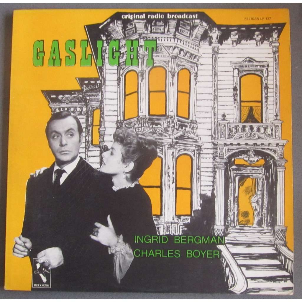 Ingrid Bergman Charles Boyer GASLIGHT original radio broadcast