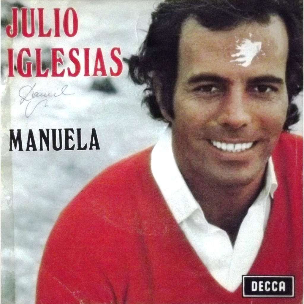 Manuela Dicen By Julio Iglesias Sp With Vinyl59 Ref