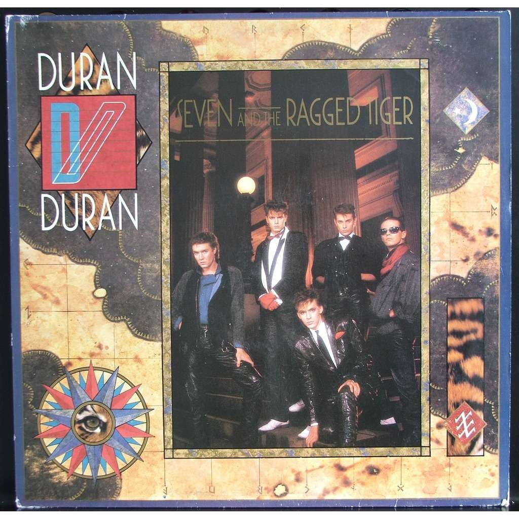 Seven And The Ragged Tiger By Duran Duran Lp With