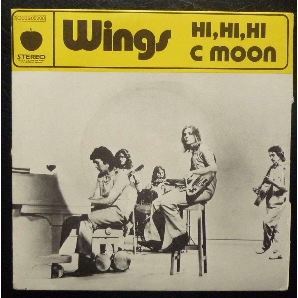 Hi Hi Hi C Moon Rare French Ps By Wings Paul