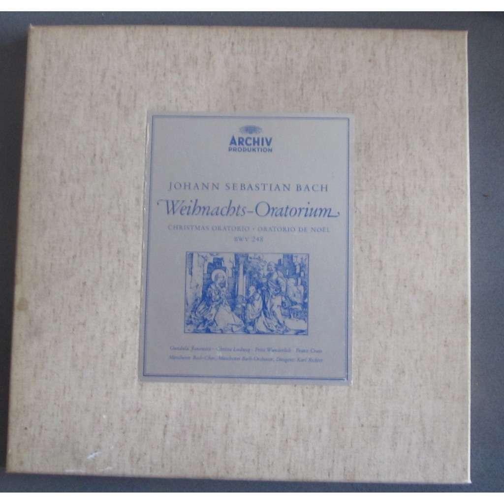 RICHTER Karl - Johann Sebastian BACH WEIHNACHTS  ORATORIUM / CHRISTMAS ORATOTRIO  BWV248