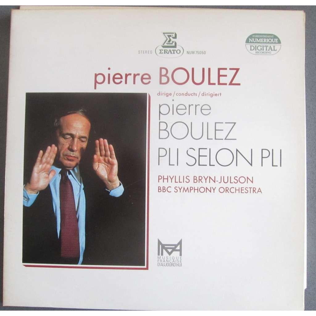 Boulez, Pierre Pli selon pli (Erato, 1983)