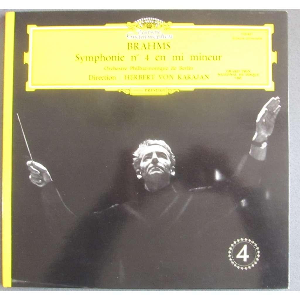 herbert von karajan Brahms Symphonie 4 - Berlin, Karajan 1964