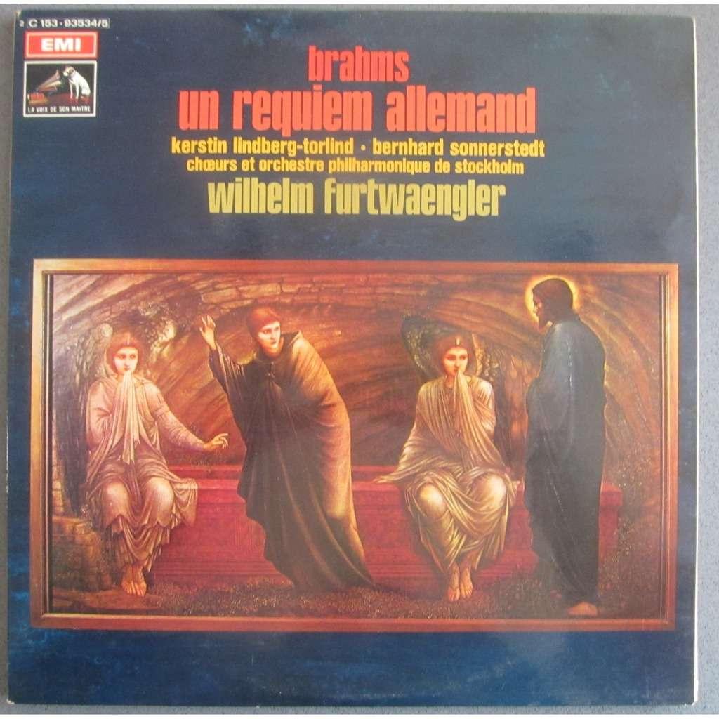 WILHELM FURTWANGLER Brahms : Un Requiem Allemand