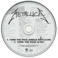 METALLICA - Turn the page/...(Single edit) - CD single