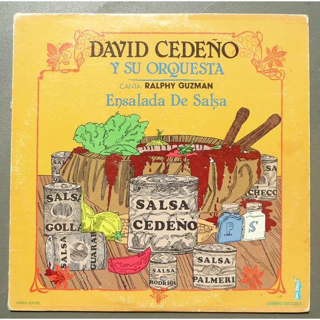 david cedeno & su orquesta (vocal : ralphy guzman) ensalada de salsa
