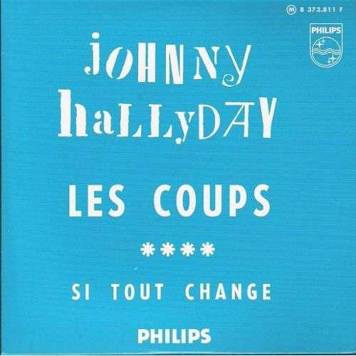 Johnny HALLYDAY Les coups ltd ed CARD SLEEVE 2-track