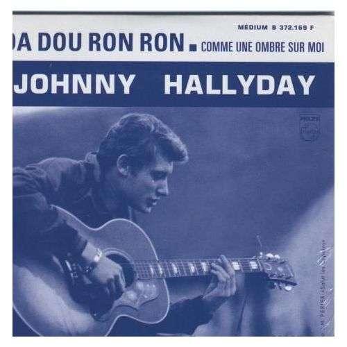 Johnny HALLYDAY Da dou ron ron 2-track Ltd ed reissue CARD SLEEVE