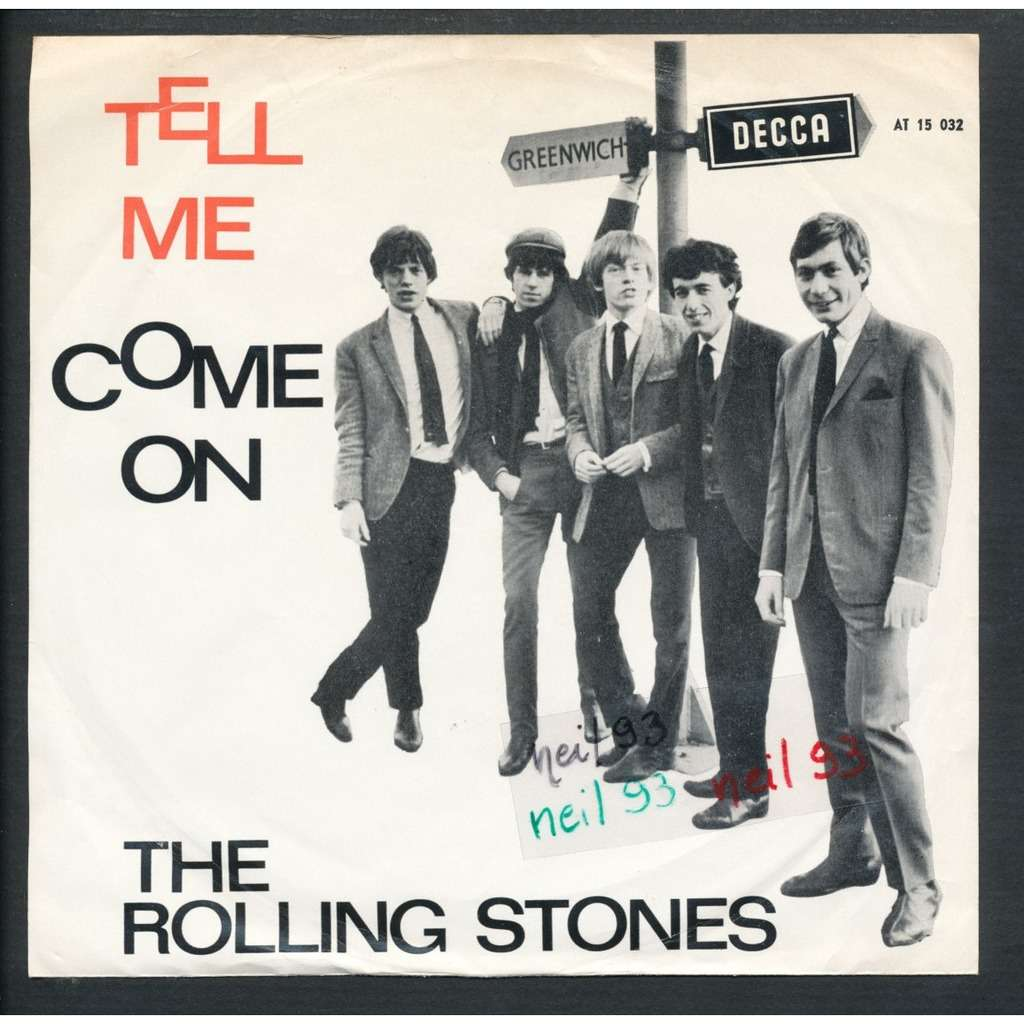 Tell Me Come On By The Rolling Stones Sp With Neil93