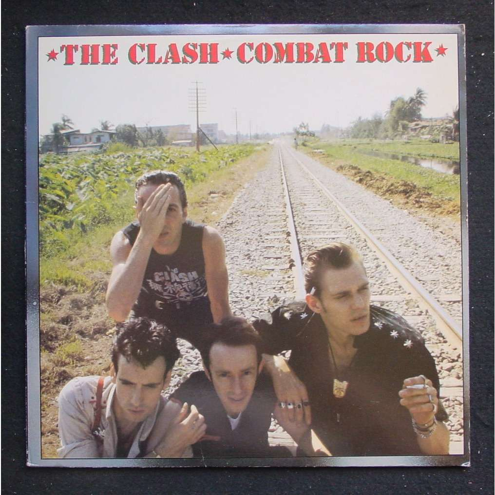 The Clash Combat rock (with poster)