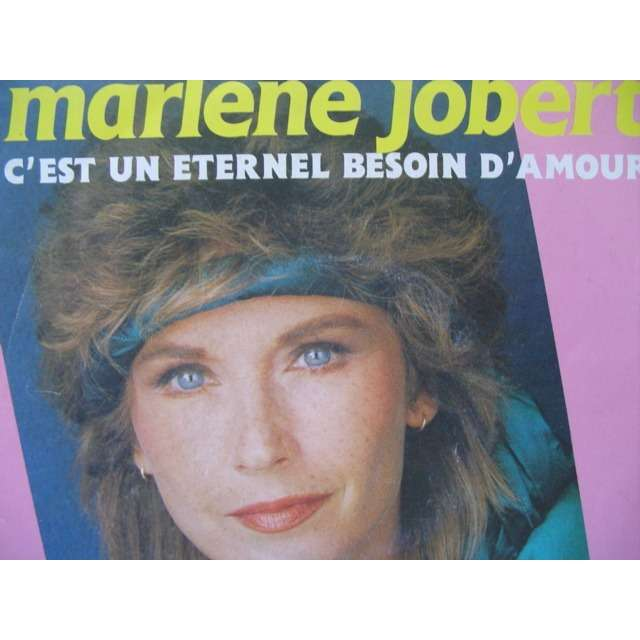 Marlène JOBERT C'est un éternel besoin d'amour et Peux pas le dire