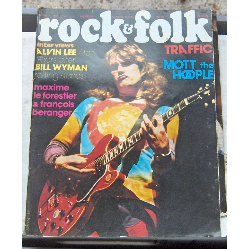 ten years after, rolling stones    rock and folk 88 mai 1974