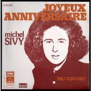 Joyeux Anniversaire Mes Cousines By Michel Sivy Didier