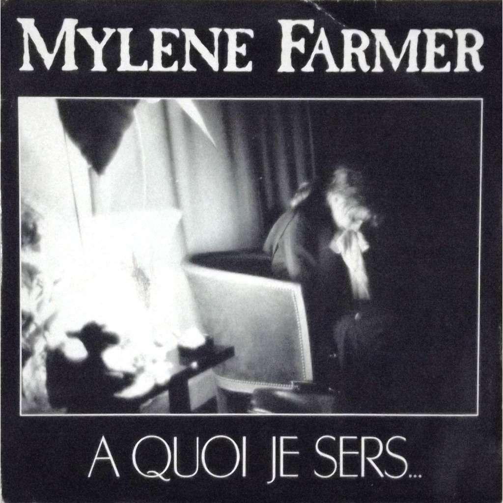 mylene farmer a quoi je sers / la veuve noire