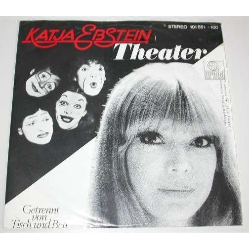 Katja Ebstein Theater / Getrennt Von Tisch Und Bett