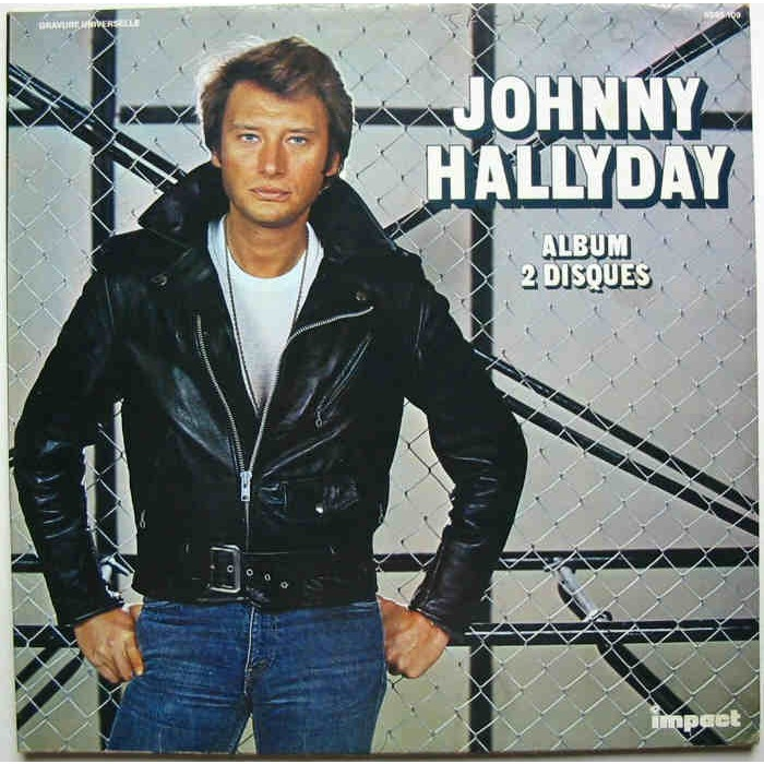 JOHNNY HALLYDAY ALBUM 2 DISQUES - COMPILATION