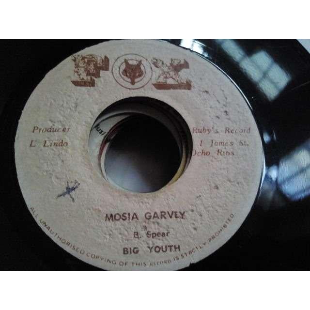 BIG YOUTH MOSIA GARVEY / VERSION ORIG