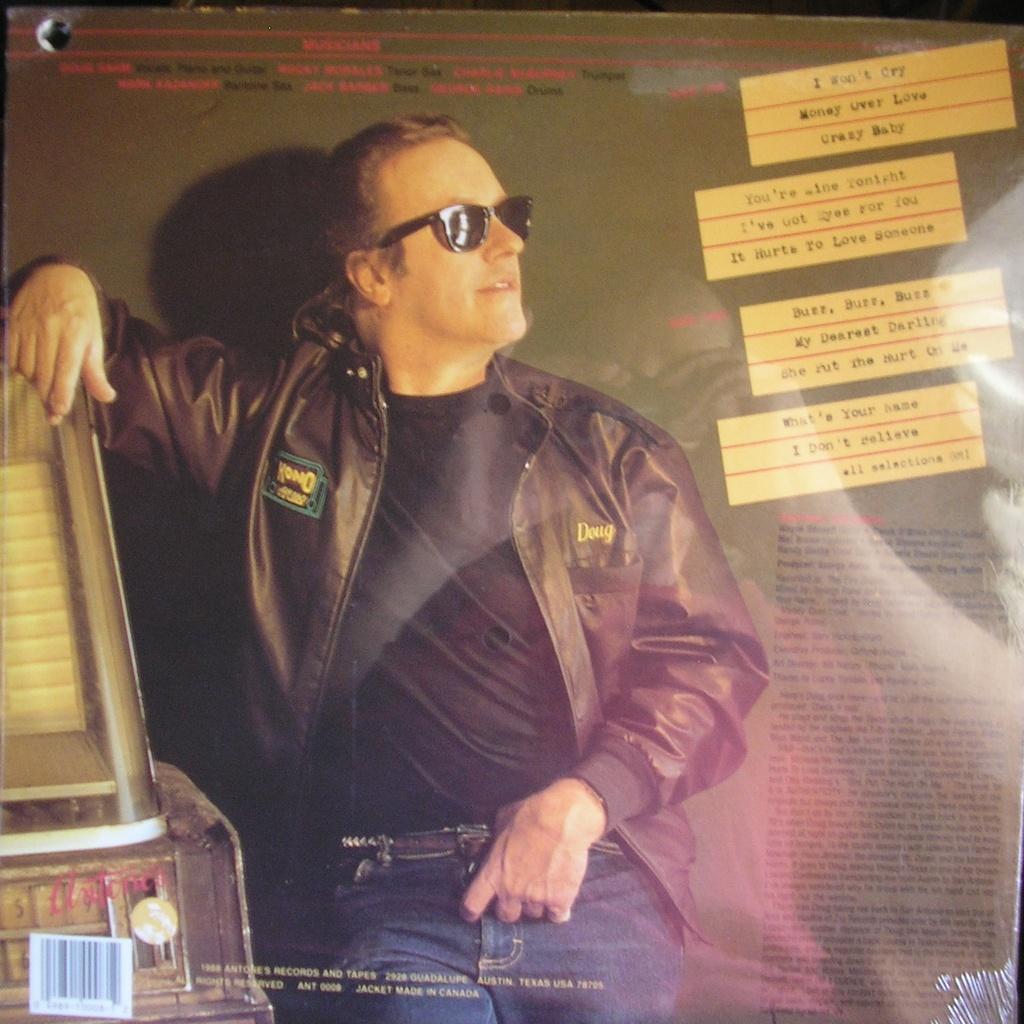 Juke box music by Doug Sahm, LP with ald93