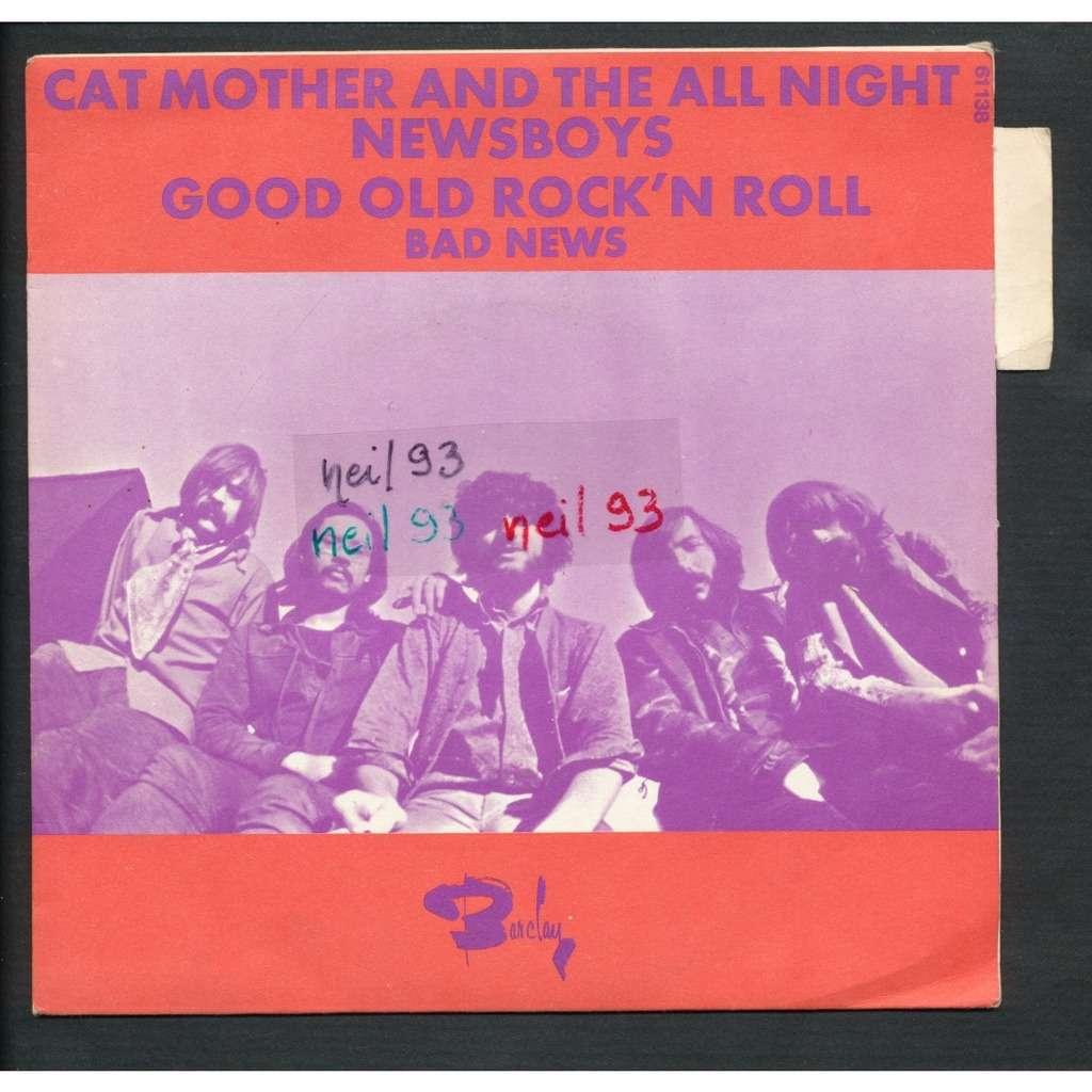 CAT MOTHER - ( JIMI HENDRIX ) good old rock'n roll - bad news