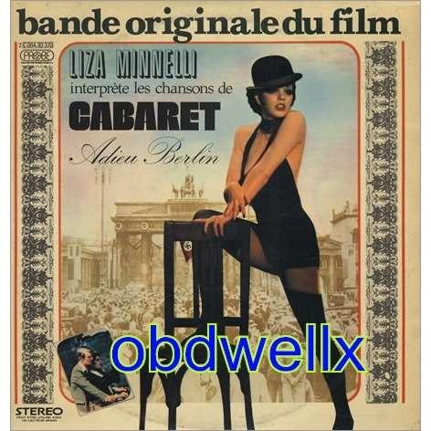 Liza Minnelli Interprete Cabaret Adieu Berlin By Cabaret Lp With