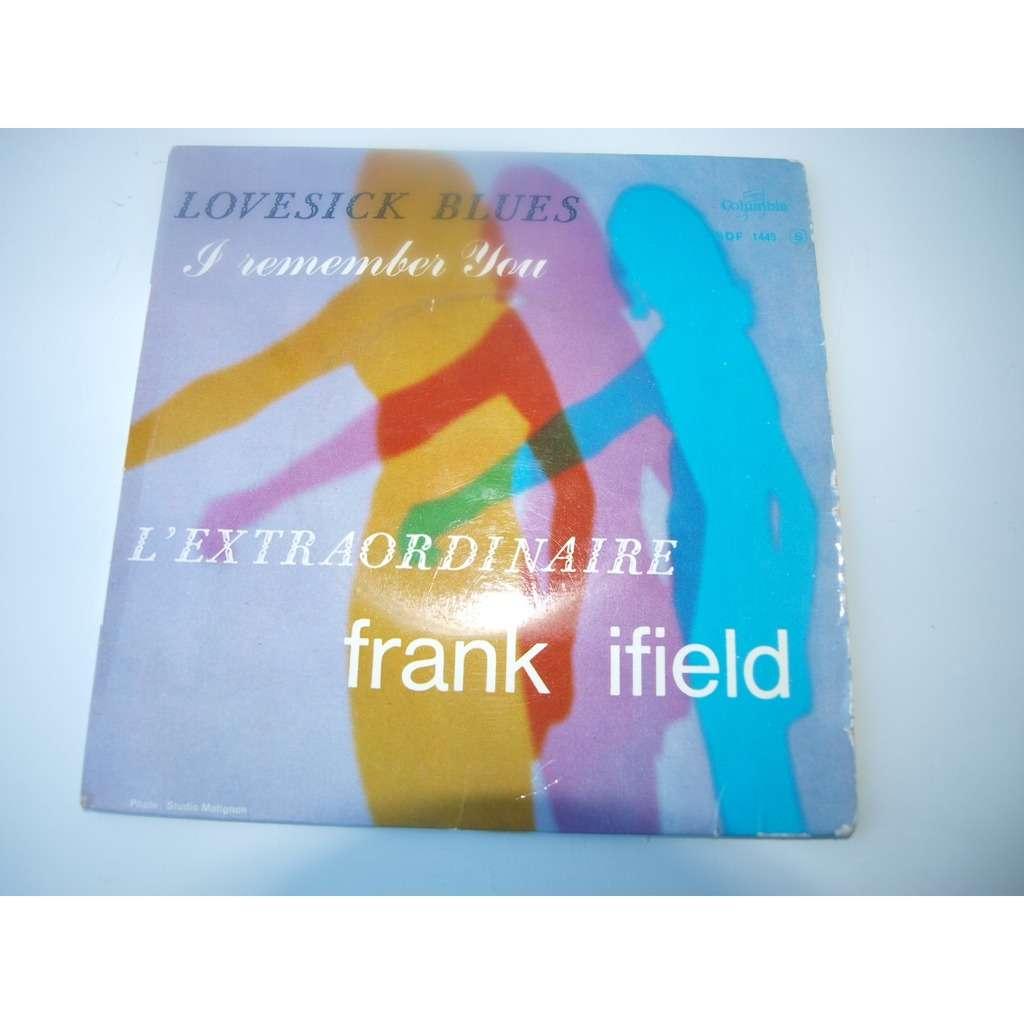 FRANK IFIELD LOVESICK BLUES