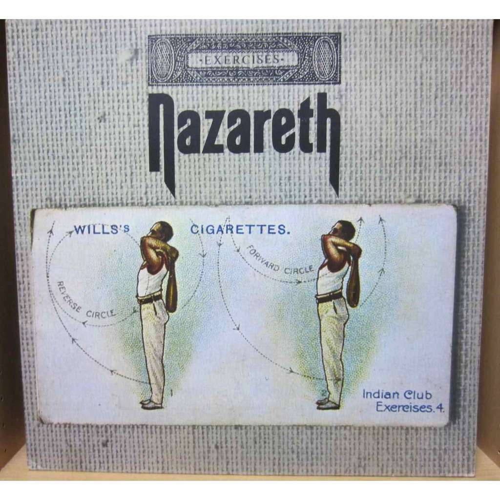 Exercises By Nazareth Lp Gatefold With Harryson Ref