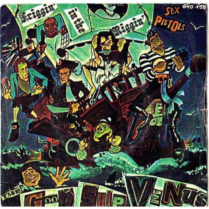 Sex Pistols Friggin In The Riggin 67