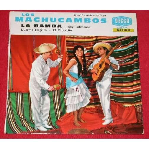 MACHUCAMBOS LOS LA BAMBA + 3 - 4EME POCHETTE