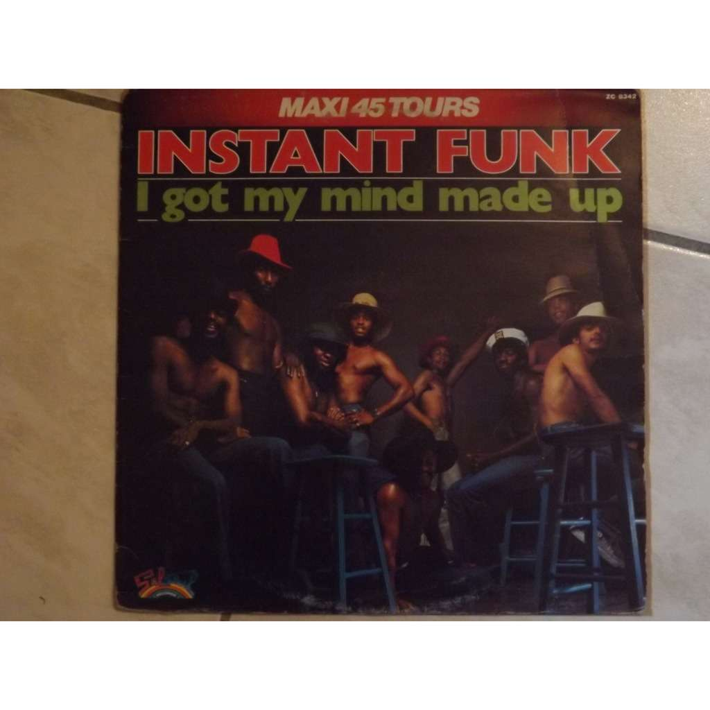 instant funk I got my mind made up