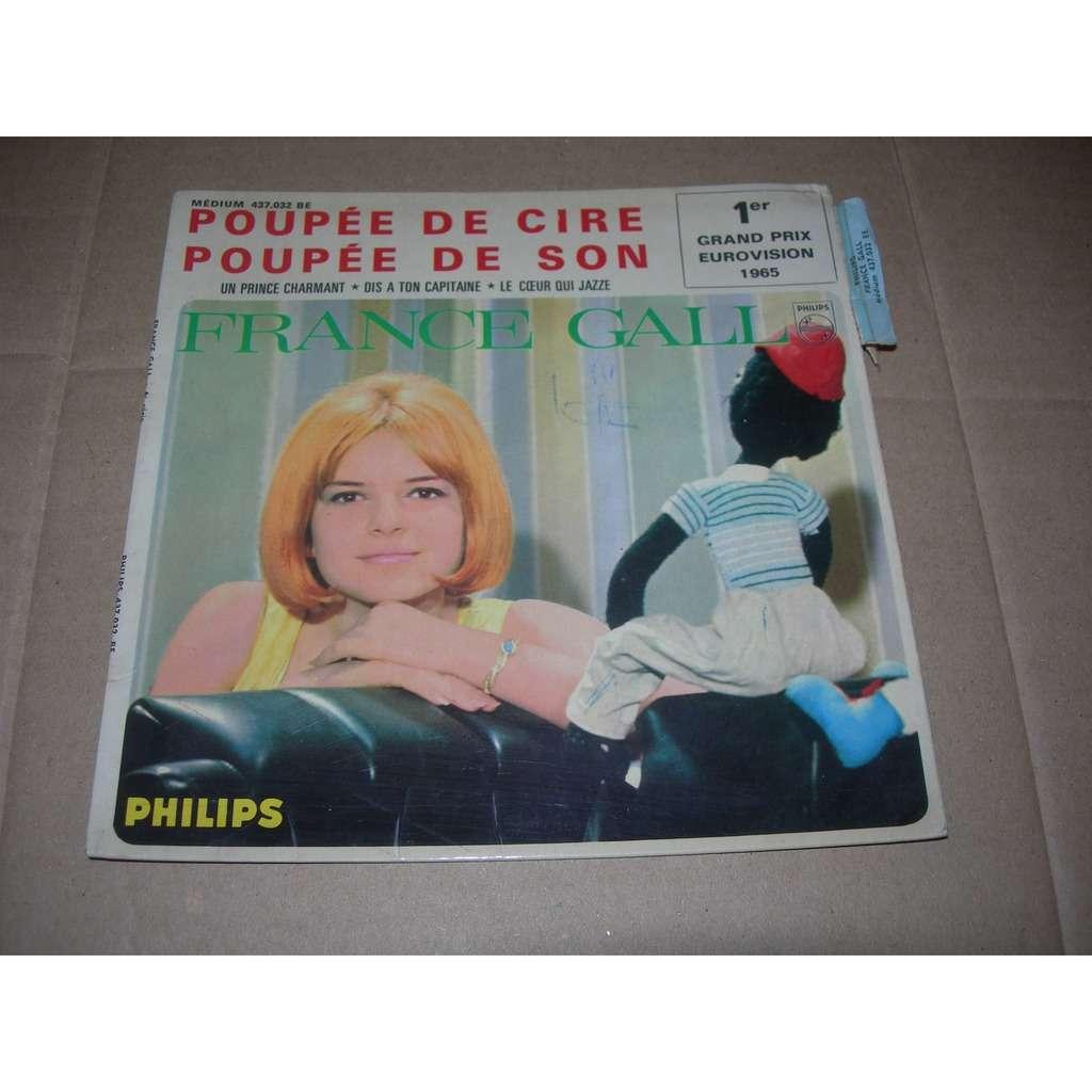 france gall 1 poupée de cire poupée de son ( pochette sans disque )