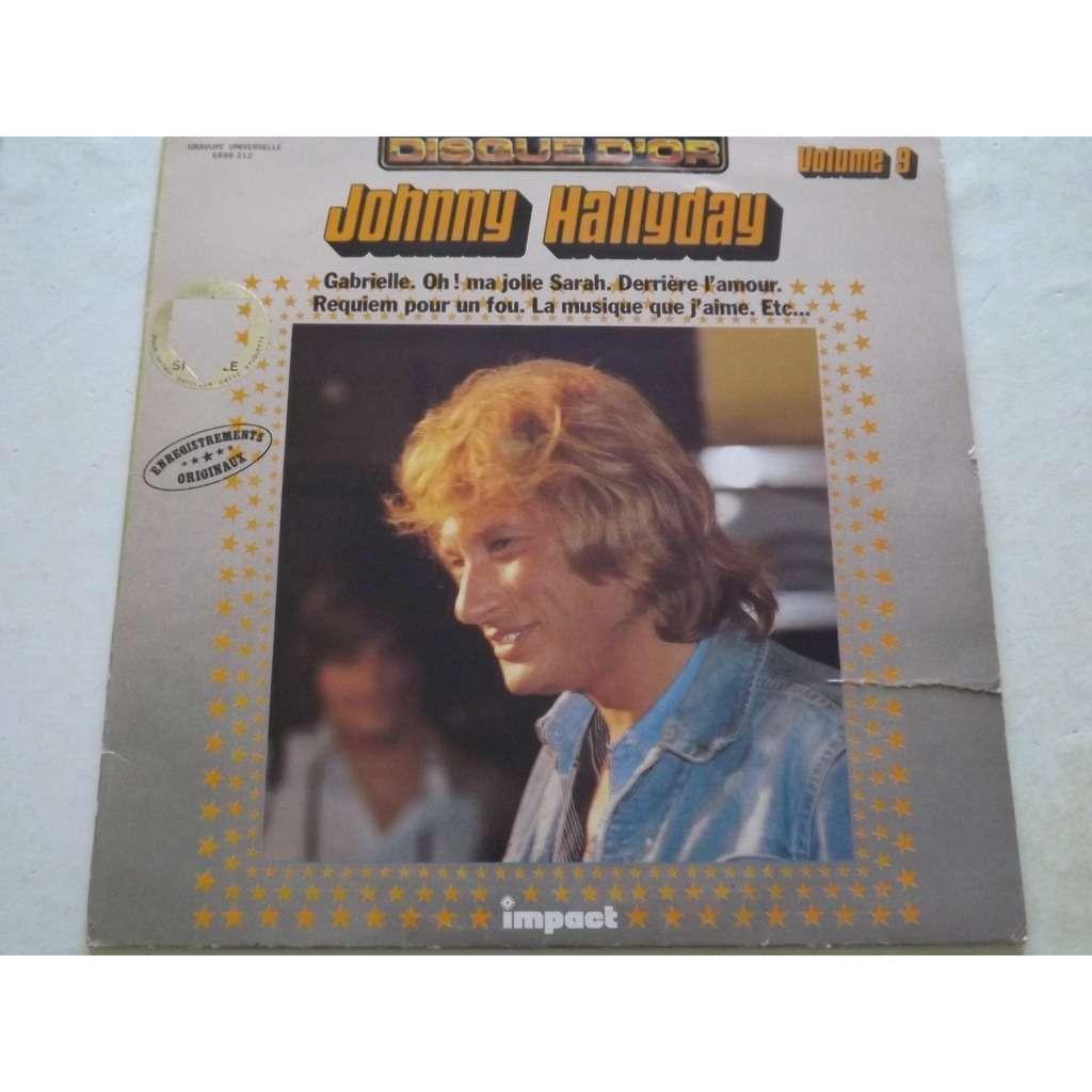 Johnny HALLYDAY Gabrielle, .. Vol 9