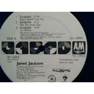 janet jackson JANET JACKSON ( PROMO NOT FOR SALE )