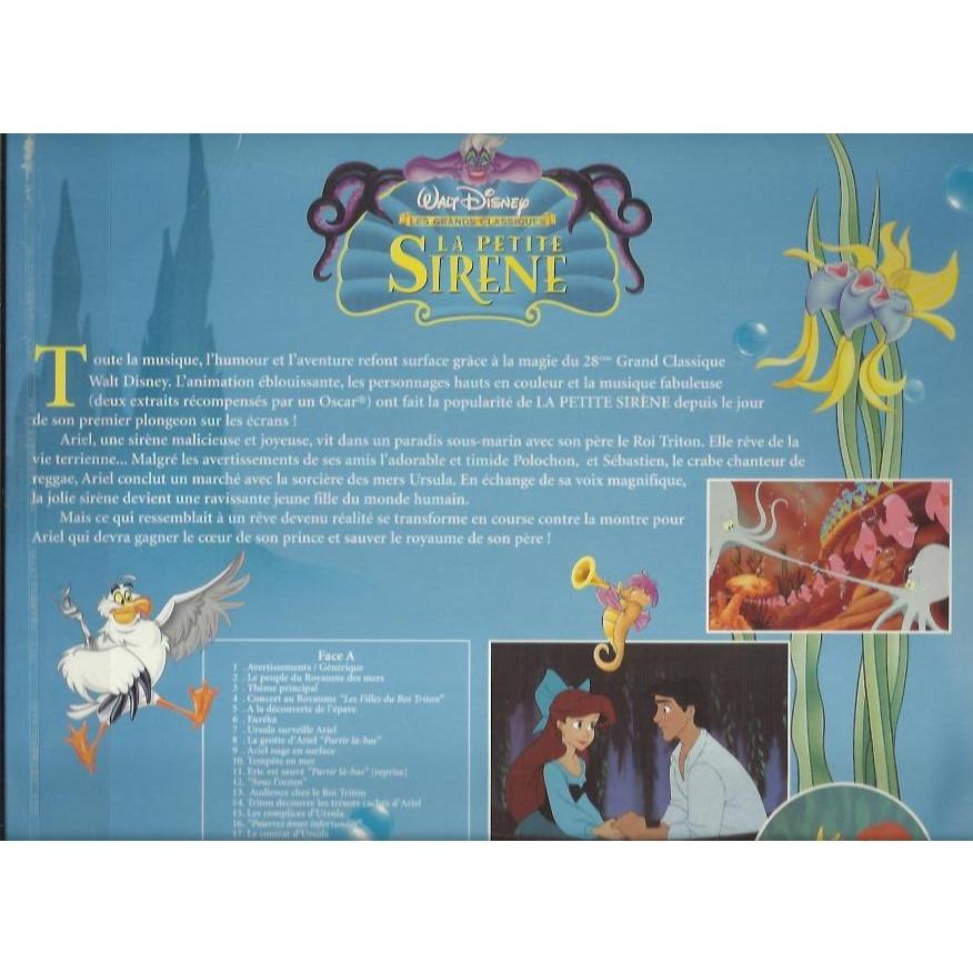 walt disney petite sirene dvd
