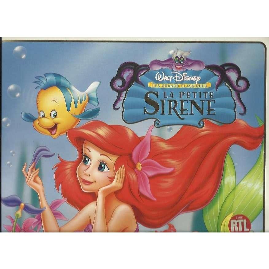 La petite sir ne by walt disney la petite sir ne ld with jeromelecorre ref 116141423 - Image petite sirene ...