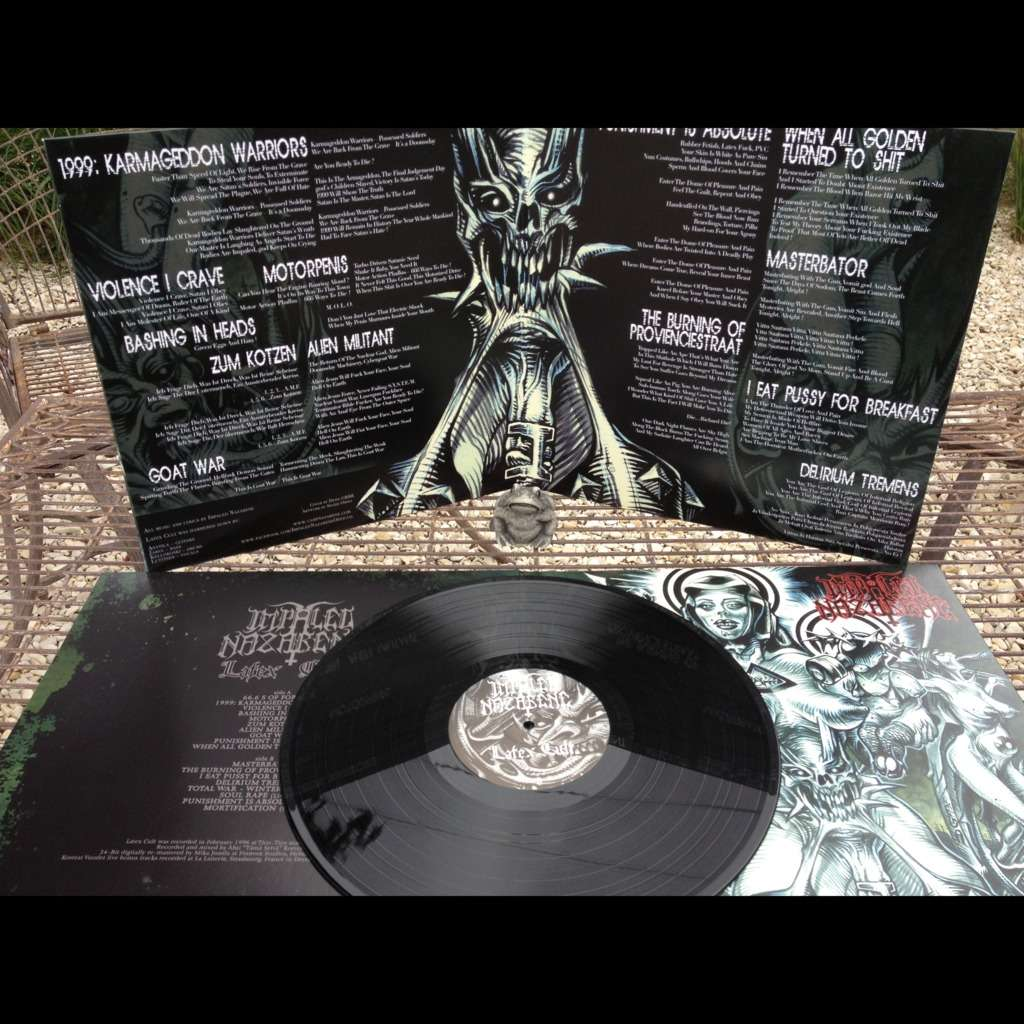 Latex Cult Black Vinyl By Impaled Nazarene Lp Gatefold