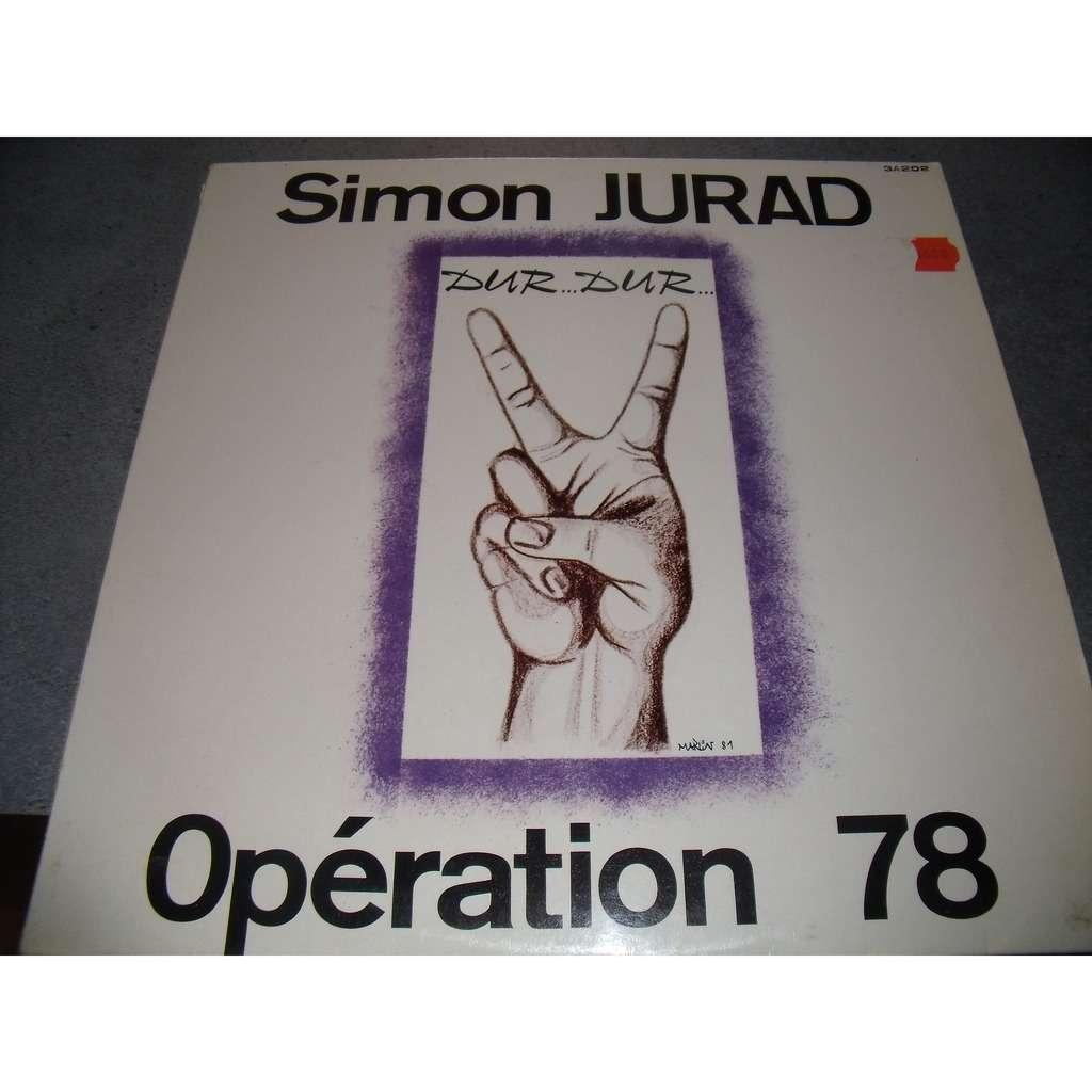 simon jurad & operation 78 dur...dur