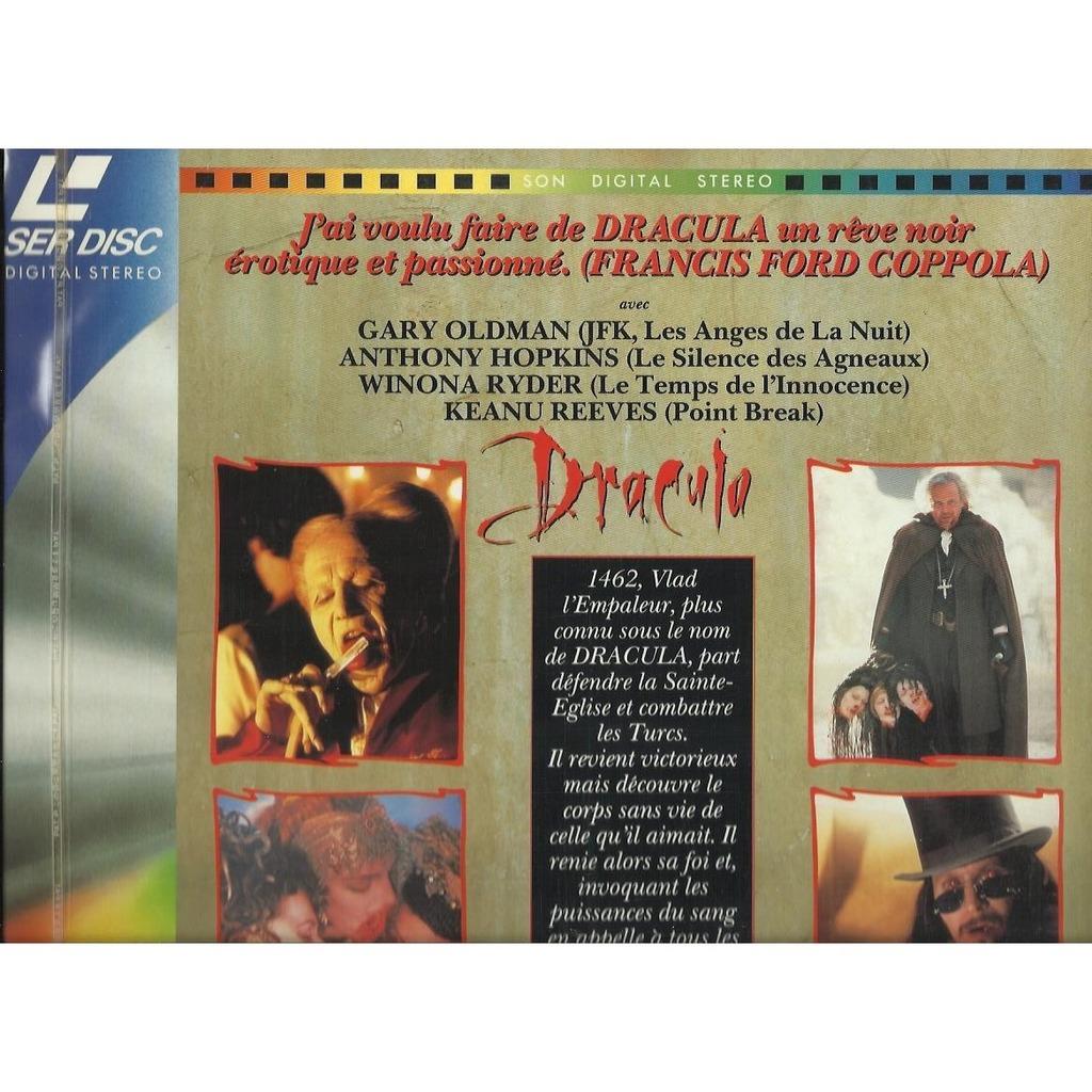 DRACULA L'amour est eternel - Avec GARY OLDMAN, ANTHONY HOPKINS, WINONA RYDER, KEANU REEVES...