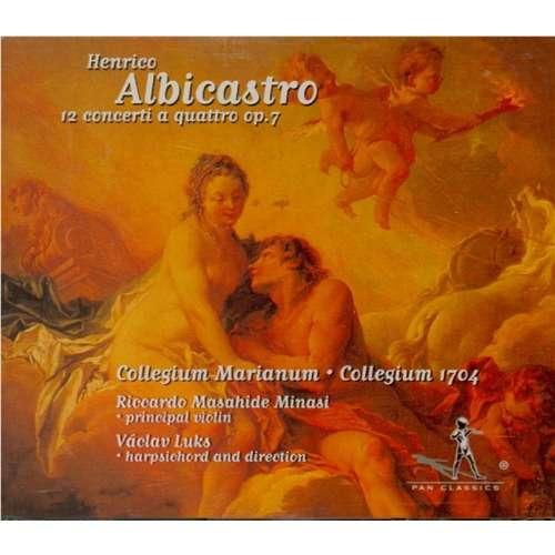 Albicastro, Henrico (1661-1730) Concerti a quattro op.7