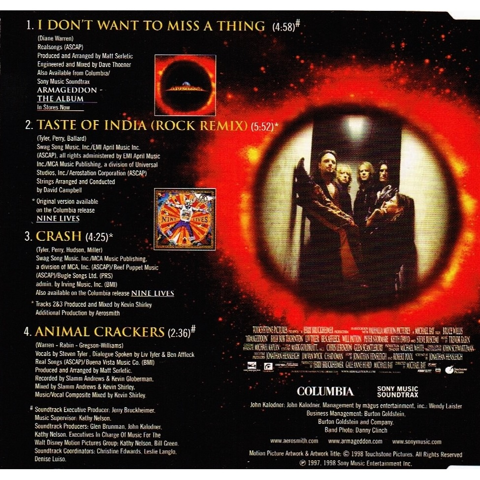 Aerosmith - I Don't Want To Miss A Thing - скачать ...