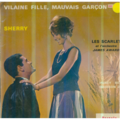 LES SCARLET ET JAMES AWARD (GAINSBOURG) - VILAINE FILLE MAUVAIS GARCON/SHERRY/HONEY BEE/MADISON 24 - 45T (EP 4 titres)