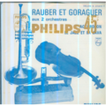 RAUBER ET GORAGUER (GAINSBOURG) - ACCORDEON / LE JAZZ ET LA JAVA - 45T (SP 2 titres)