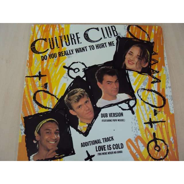CULTURE CLUB DO YOU REALLY WANT TO HURT ME (long version) 1982 FRANCE