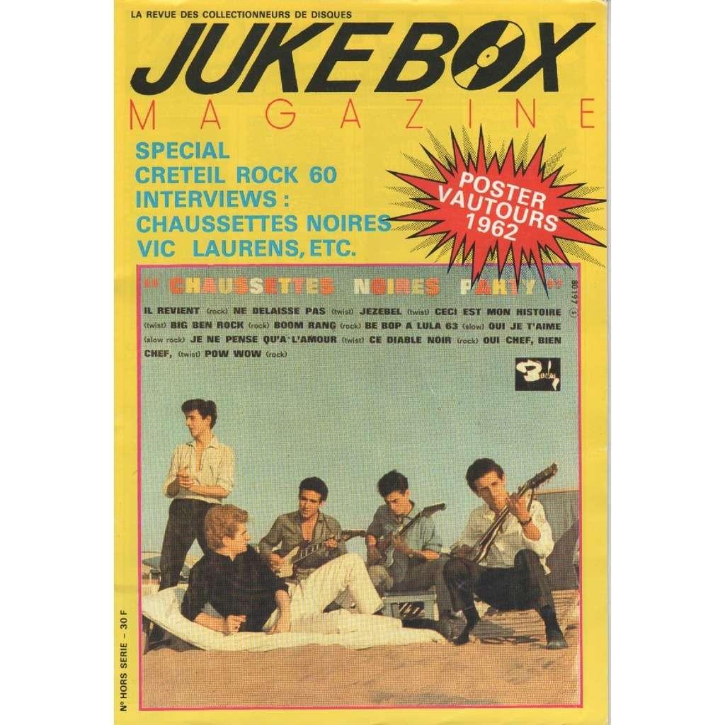 chaussettes noires - vautours - vic laurens jukebox magazine - hors série - 1988