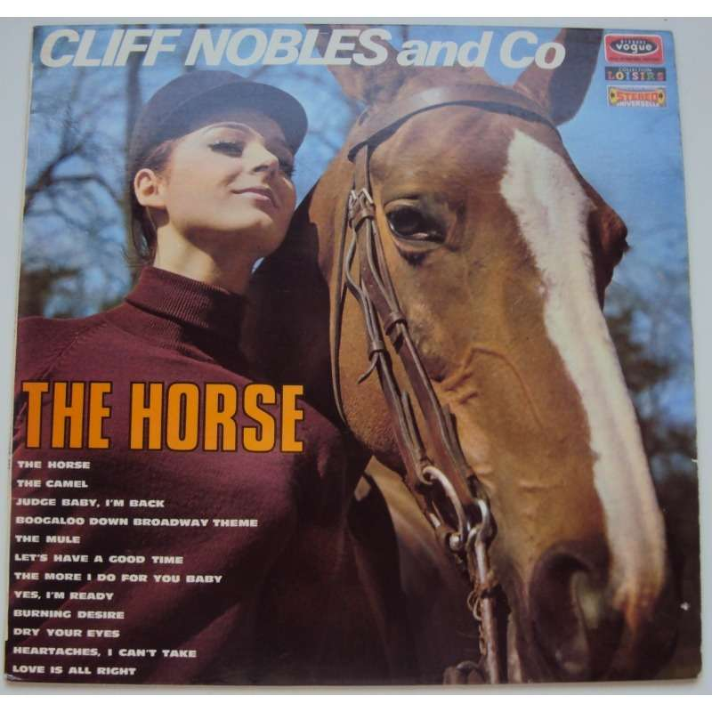 Cliff Nobles & Co* Cliff Nobles & Co. - Horse Fever / Judge Baby, I'm Back