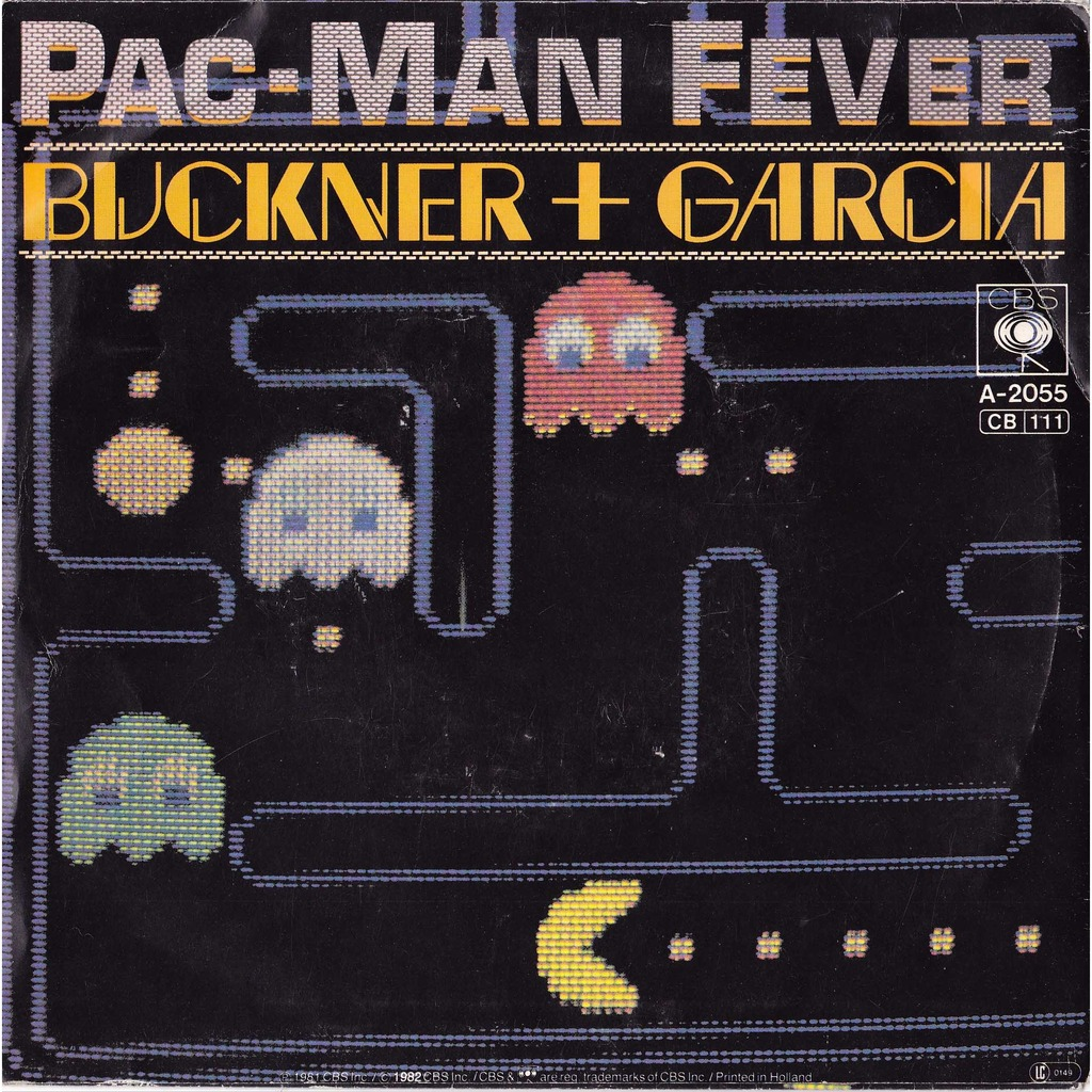 BUCKNER AND GARCIA pac-man fever ( pacman ) / instru