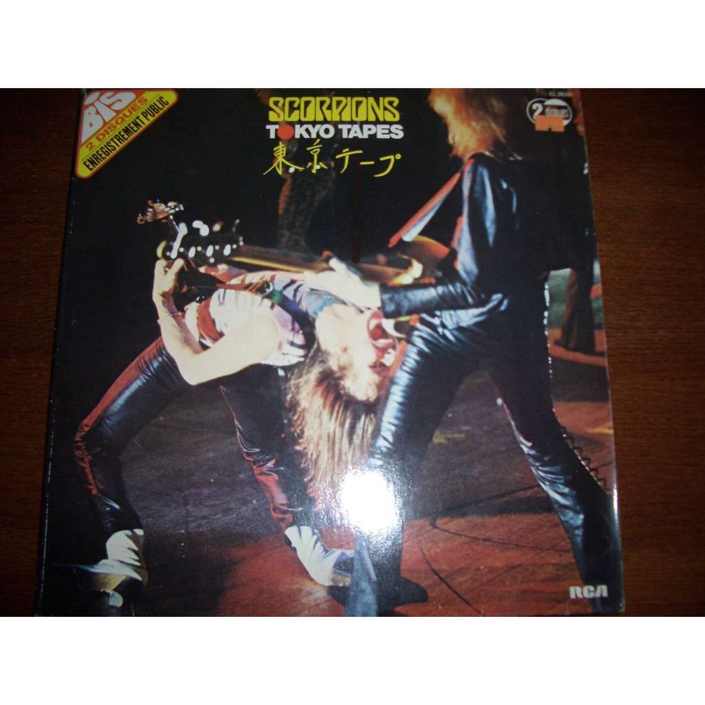 Tokyo Tapes By Scorpions Lp With Sousse Ref 116182027