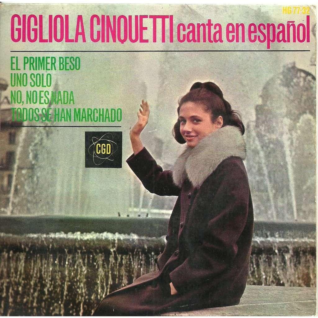 Resultado de imagen para Gigliola Cinquetti - Canta en Espanol