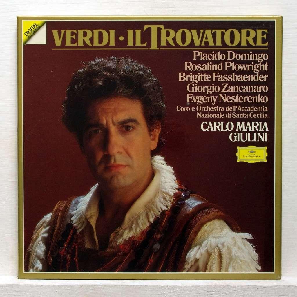 Verdi il trovatore by carlo maria giulini lp box set - Carlos maria ...