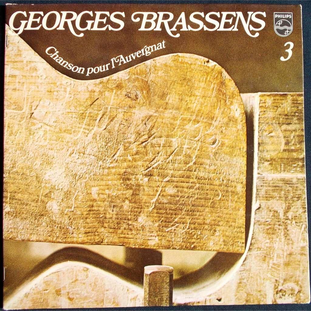 Chanson Pour L Auvergnat Vol 3 By Georges Brassens Lp
